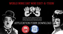World Mime Day Wiki Edit-a-Thon